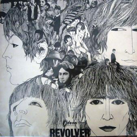 The Beatles - Revolver (Odeon, Red,1966)