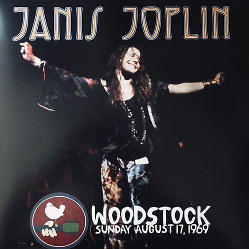 Janis Joplin - Woodstock Sunday August 17, 1969