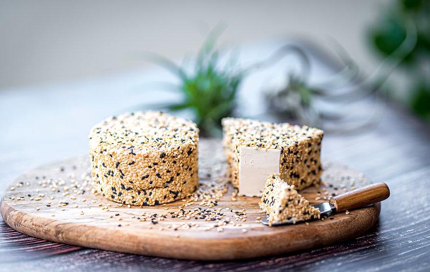 גבינת קשיו חצי קשה - שומשום