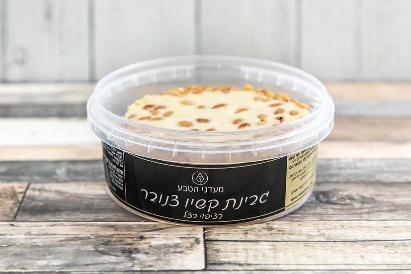 גבינת קשיו חצי קשה - צנובר בצל