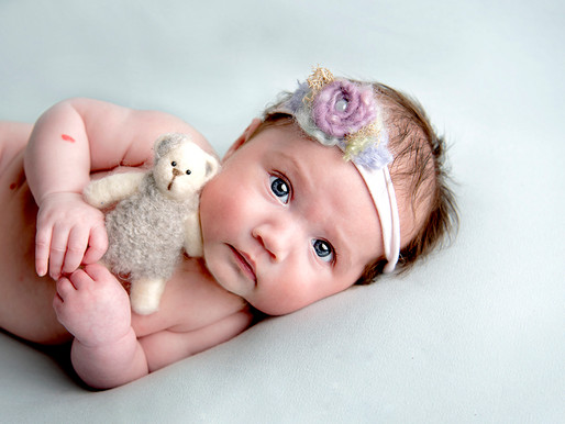What happens if my baby cries for their Newborn Photographs