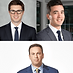 Kyle Dubas, GM Toronto Maple Leafs and Bobby Webster, GM Toronto Raptors with Elliotte Friedman