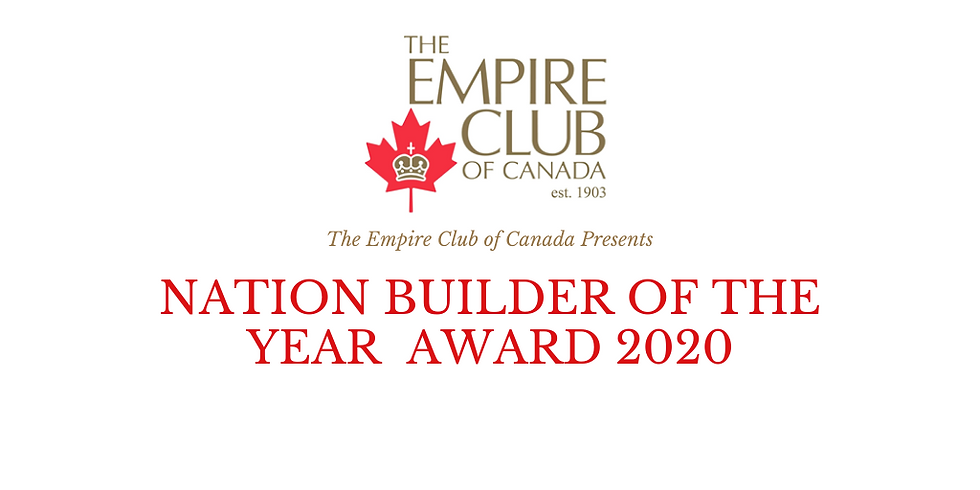 Nation Builder of the Year Award 2020