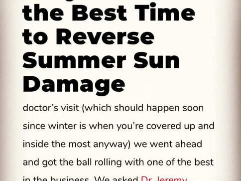 Reverse Summer Sun Damage