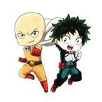 2 Super Heroes