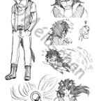 Komès - Character Design