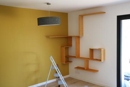 etageres murale avec fixations invisibles