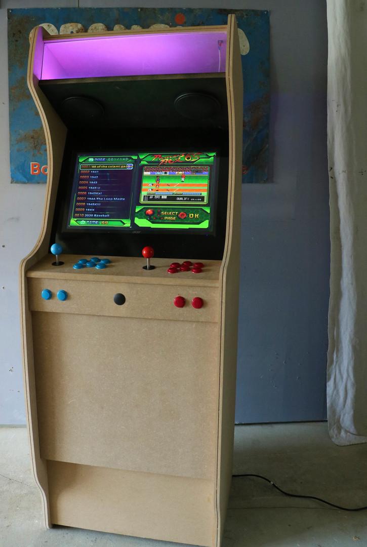 borne d'arcade personalisable