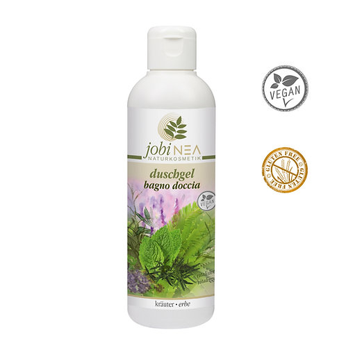 Shower gel with herbs