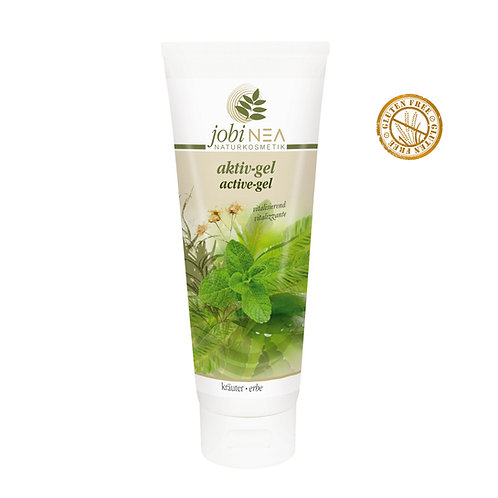 Active gel with herbs