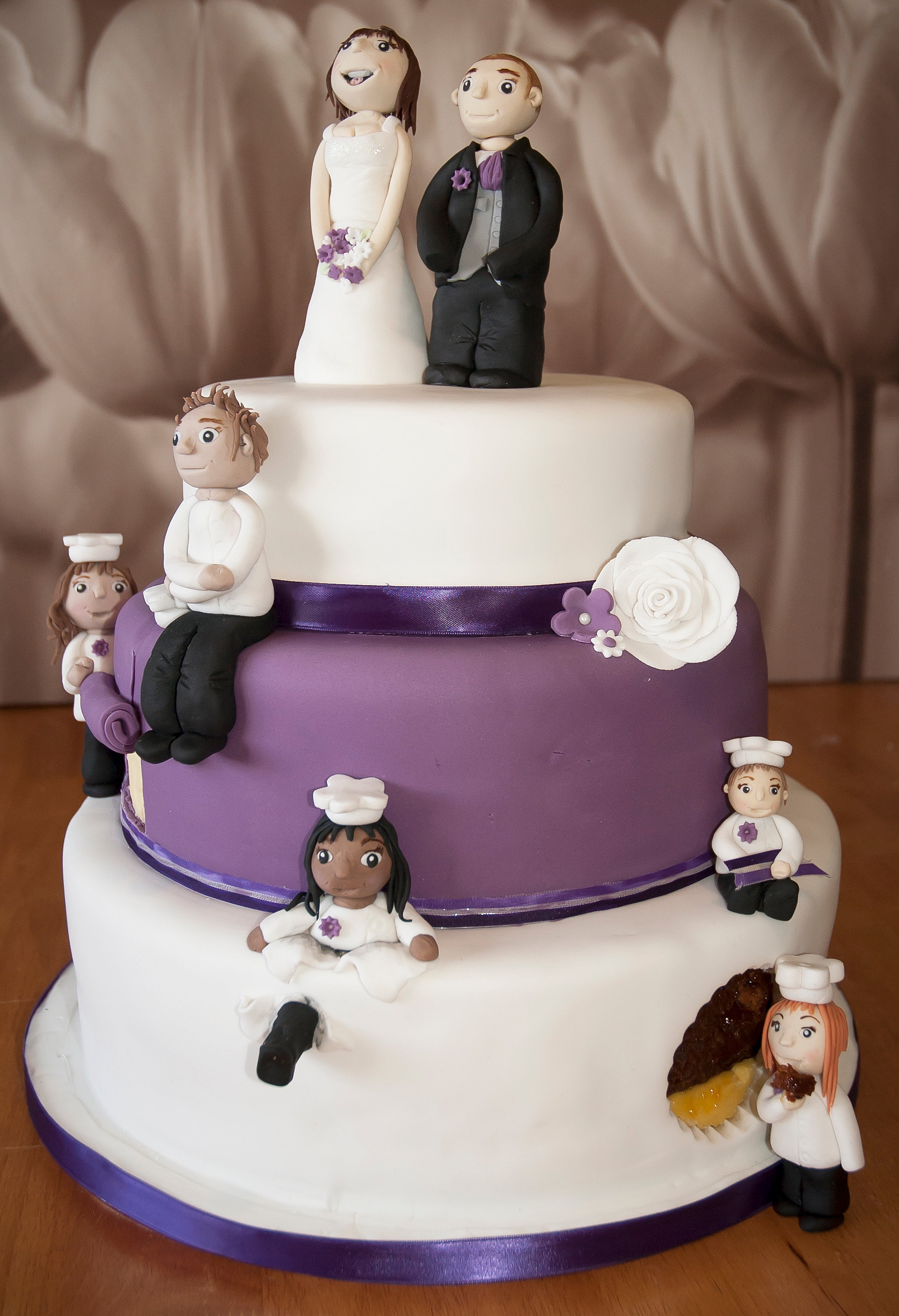 Family Wedding Cake