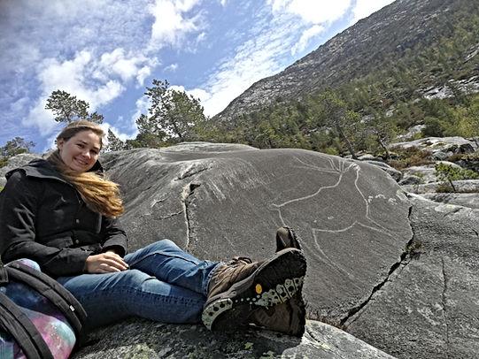 Rock Carving Lødingen