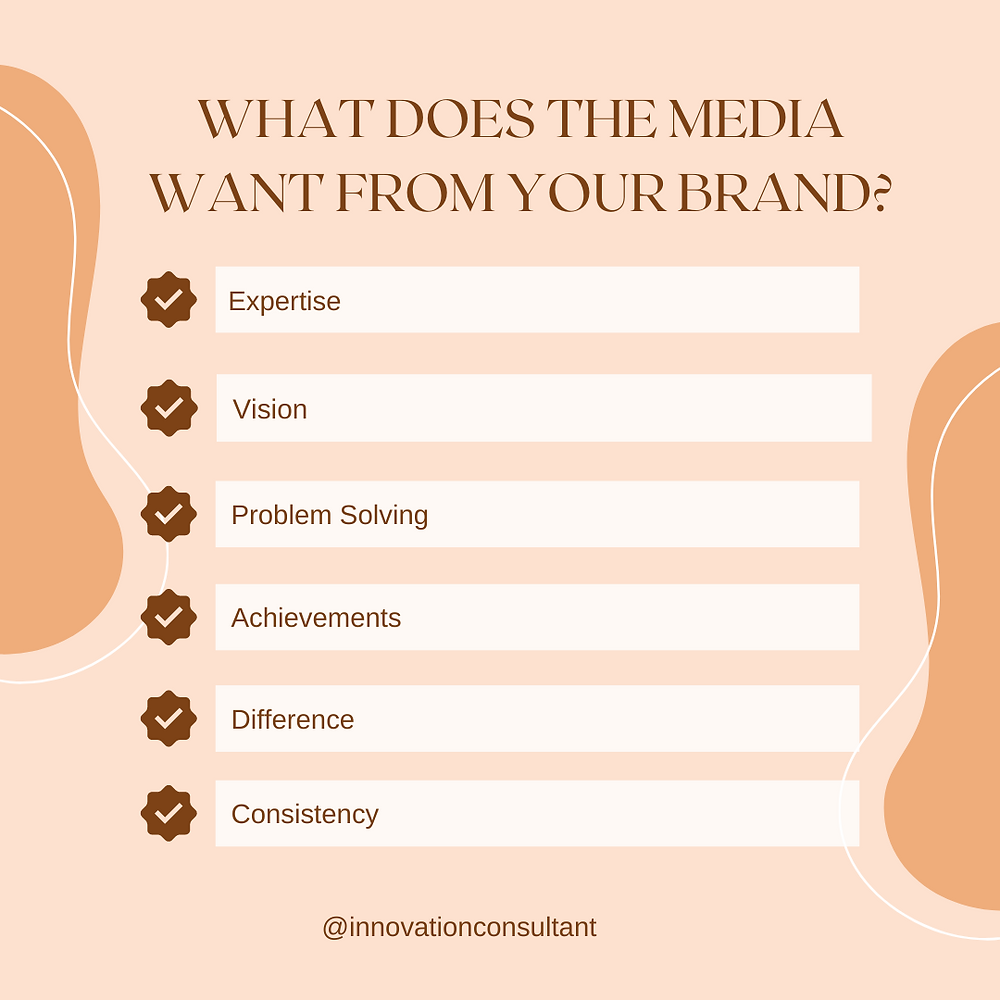 6 ways to position your brand to get into the media. Read more here.