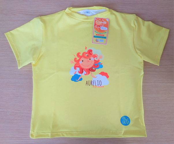 Camiseta manga corta - Amarilla