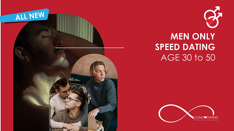Men Only Speed Dating Age 30 to 50