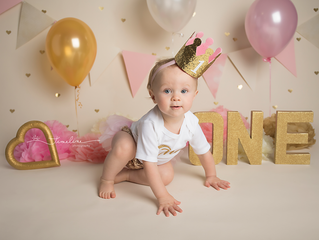 Panama City Beach Baby Photographer | Peyton's Cake Smash