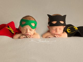 Tyndall AFB Newborn Photographer | Bennett and Ryan