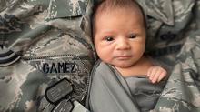 Tyndall AFB Newborn Photographer | Leonel