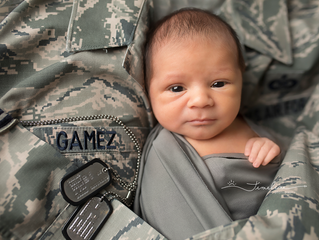 Tyndall AFB Newborn Photographer | Leonel