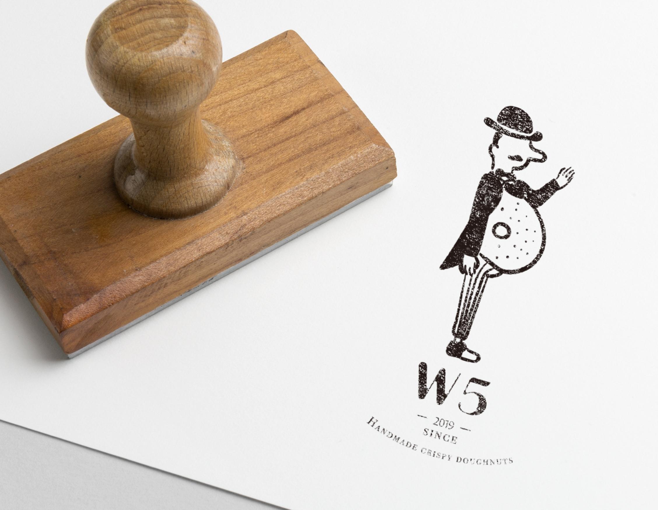 Rubber Stamp PSD MockUp 4