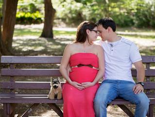 Panama City Maternity Photographer | Brittany and Justin