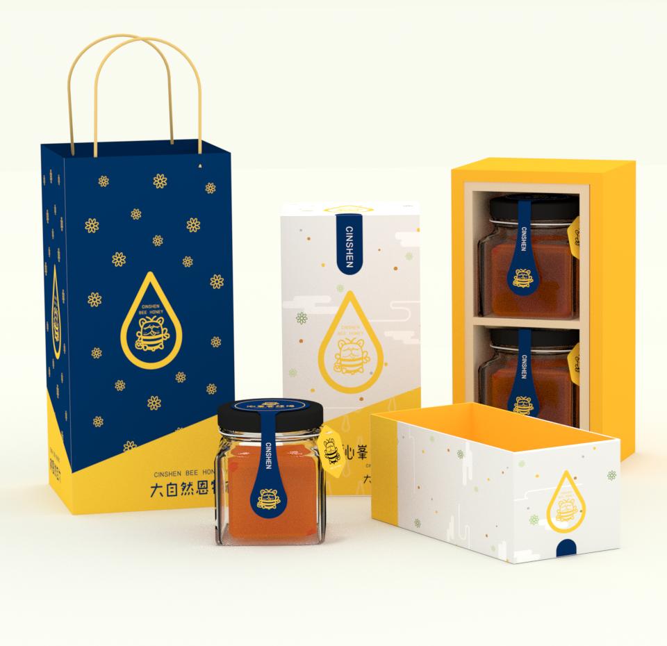 沁峯養蜂場包裝