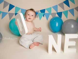 Panama City Baby Photographer | Michael James' Cake Smash