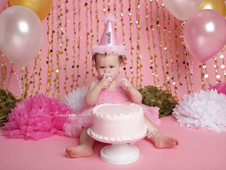 Panama City Beach Baby Photographer | Piper's Cake Smash