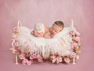 Lynn Haven Newborn Photographer | Courtney