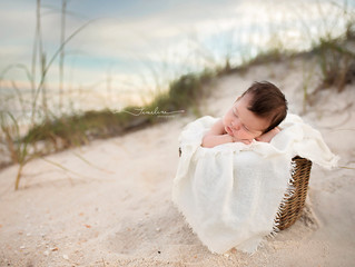 Panama City Beach Newborn Photographer | Oliver