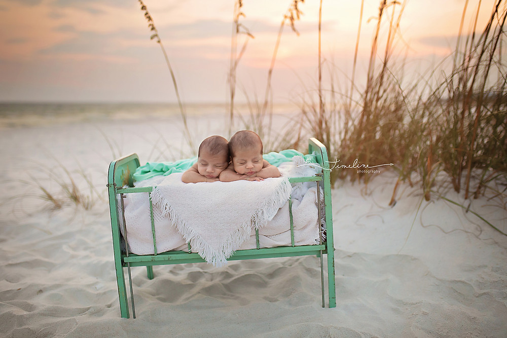 Panama City Newborn Twins Photographer