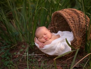 Outdoor Newborn Photographer | Vincent