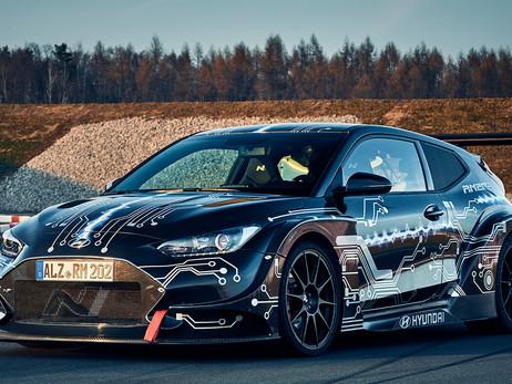 HYUNDAI REVEALED THE RM20E ELECTRIC SPORTS CAR   CARS NEWS   AUTO REPORTER