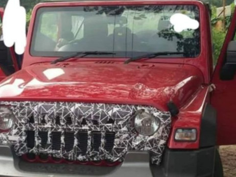 2020 MAHINDRA THAR SPOTTED WITH NEW GRILLE   Automotive News   Auto Reporter.