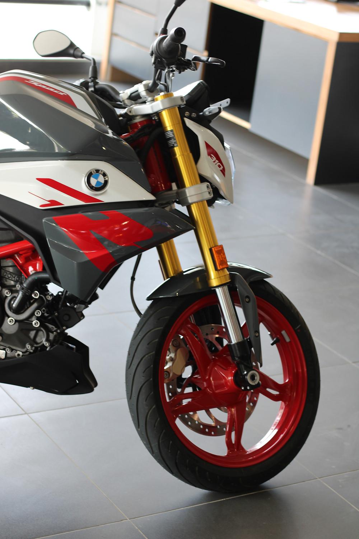 BMW G310-R SUSPENSION   AUTO REPORTER   BIKE NEWS