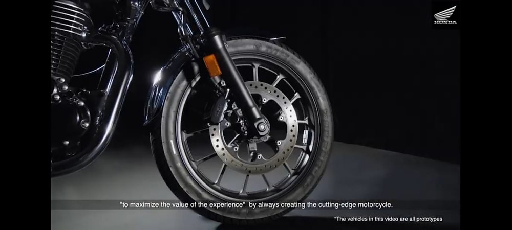 Brakes And Suspension of Honda H'Ness | AUTO REPORTER | BIKE NEWS