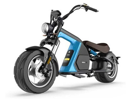 "THE AUSTRALIAN EV BRAND EMOS UNVEILED A ""CHOPPER STYLED"" E-BIKE 