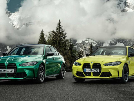 2021 BMW M3 AND M4 UNVELID   CARS NEWS   AUTO REPORTER