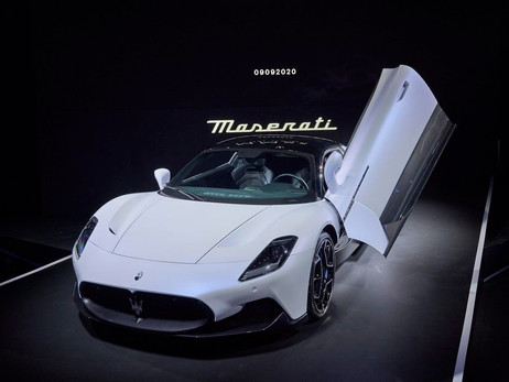 MASERATI MC20 SPORTSCAR UNVEILED   Automotive News   Auto Reporter