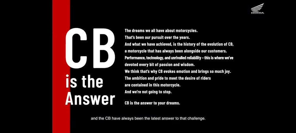 CB is the Answer | AUTO REPORTER | BIKE NEWS