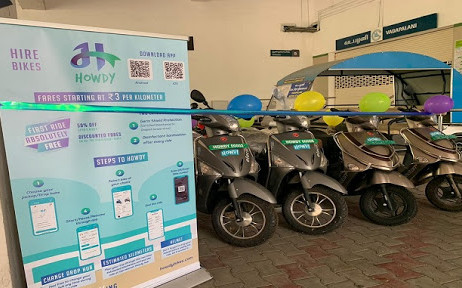 CHENNAI METRO RAIL STARTED E-BIKE SERVICE AT 3 METRO RAIL STATION AUTO INDUSTRY NEWS | AUTO REPORTER