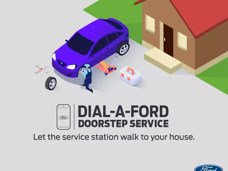 "FORD INDIA STARTS NEW ""DOORSTEP SERVICE"" FACILITY 