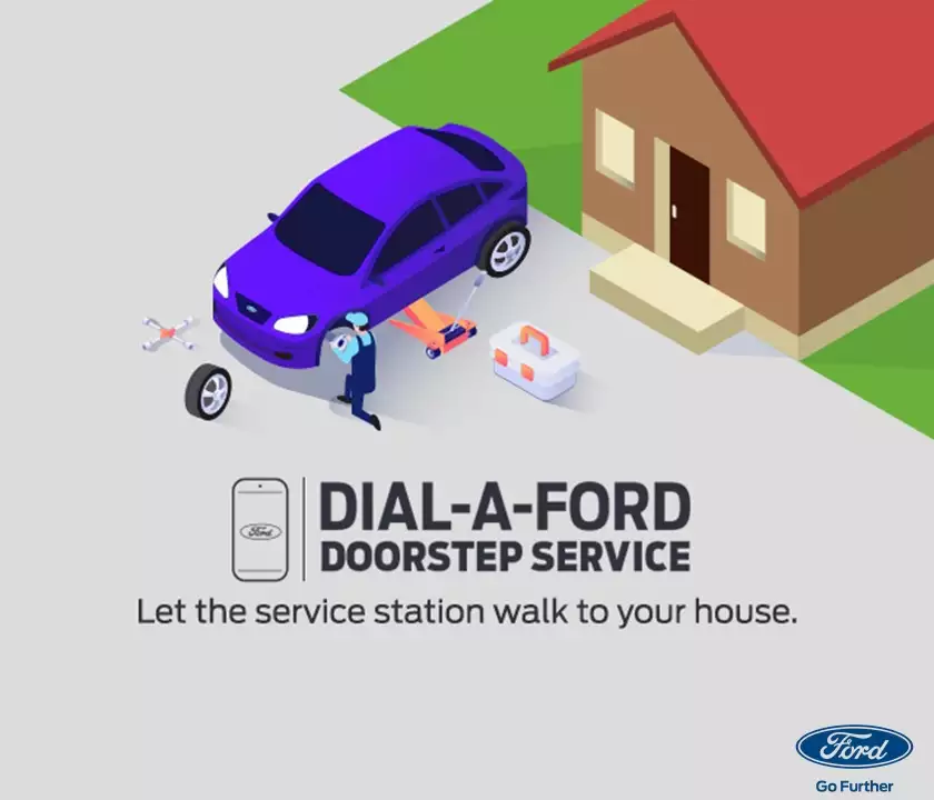 """FORD INDIA STARTS NEW """"DOORSTEP SERVICE"""" FACILITY 