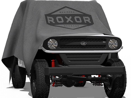 THE MAHINDRA ROXOR REVEALED WITH ENTIRE NEW EXTERIOR DESIGN   AUTOMOTIVE NEWS   AUTO REPORTER