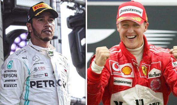 Hamilton eyes Schumacher's record | Racing News | Auto Reporter