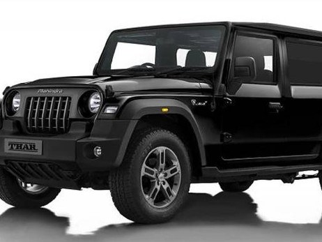 MAHINDRA IS DEVELOPING 5 DOOR VERSION OF ALL NEW THAR 2020   CARS NEWS   AUTO REPORTER