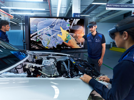 MUNICH PILOT PLANT: BMW GROUP USES AUGMENTED REALITY IN PROTOTYPING | AUTOMOTIVE NEWS, ATUO REPORTER
