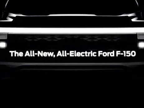 ELECTRIC FORD F-150 PREVIEWED WITH WILD-LOOKING DESIGN | AUTO REPORTER | AUTOMOTIVE NEWS
