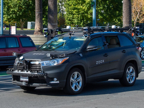 AMAZON'S ZOOX TAKE DRIVERLESS CAR TEST PERMIT IN CALIFORNIA (U.S.) | AUTO REPORTER |