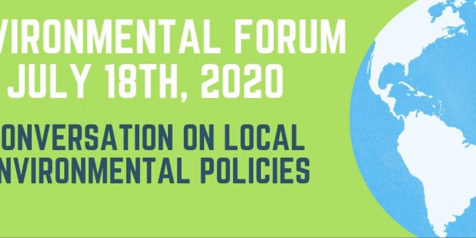 Conversation on Local Environmental Policies